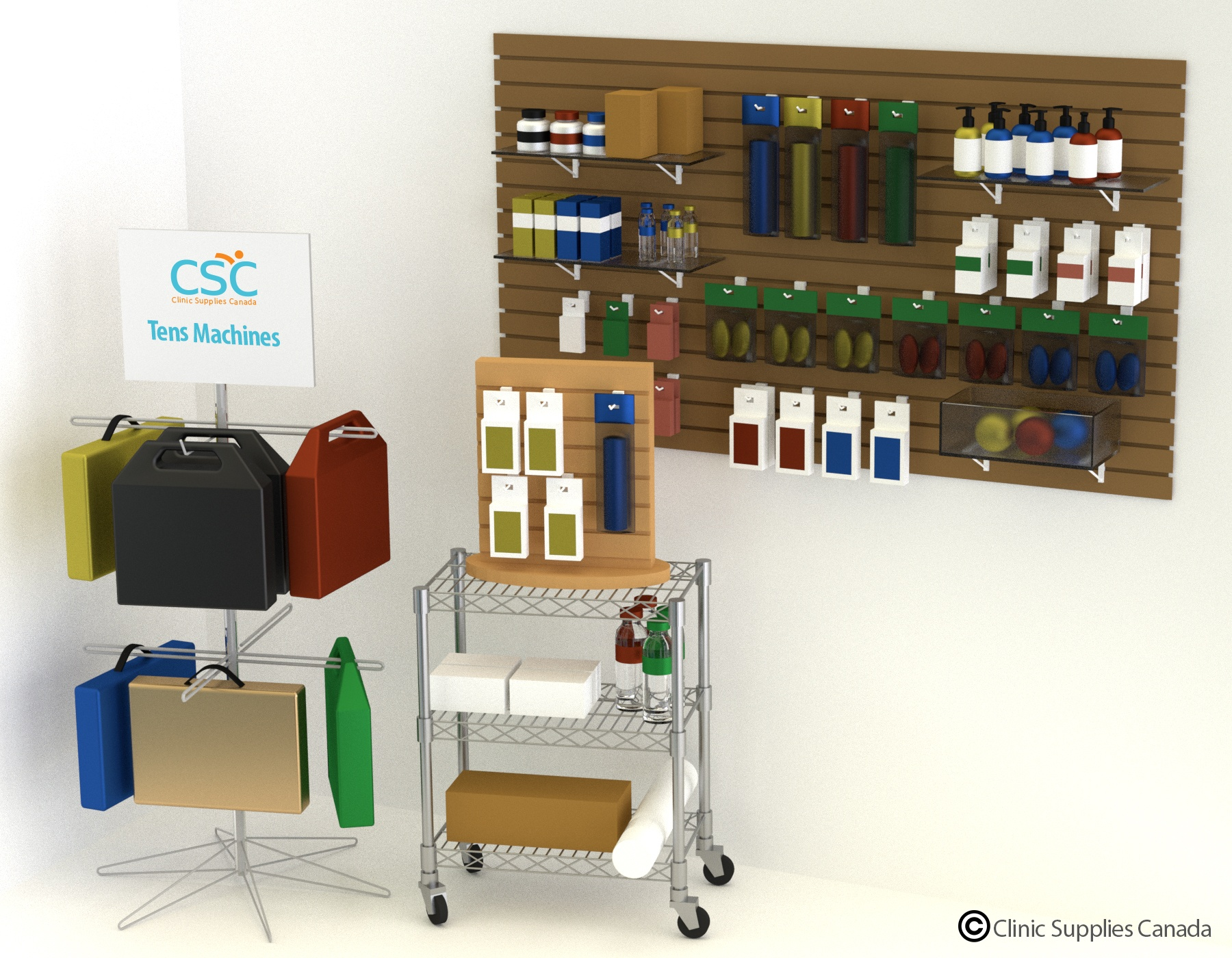 Clinic Supplies Canada Product Display