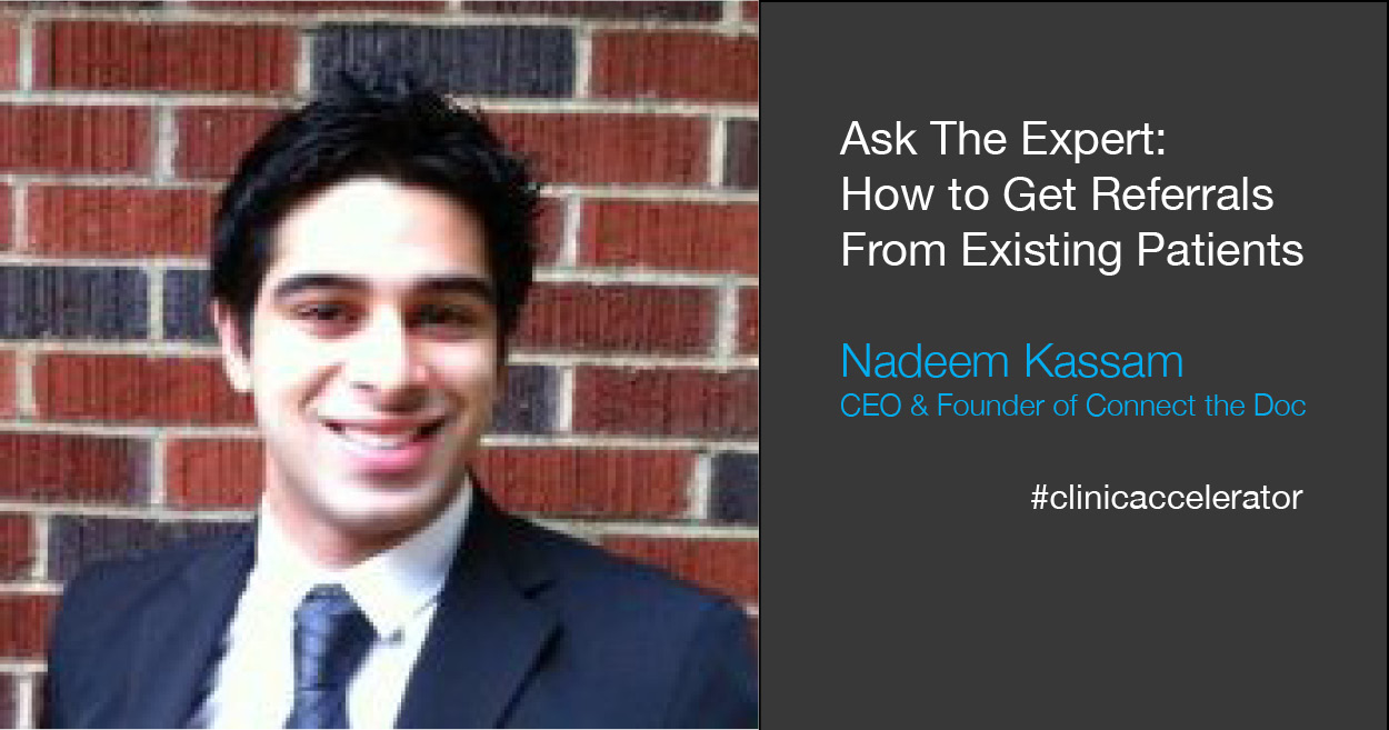 How to ask existing patients for referrals