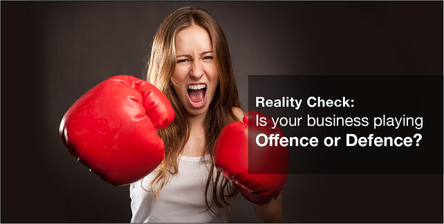 Is your health business playing offence or defence